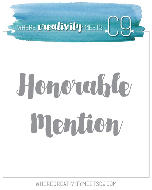 Honorable Mention @ Where Creativity Meet C9