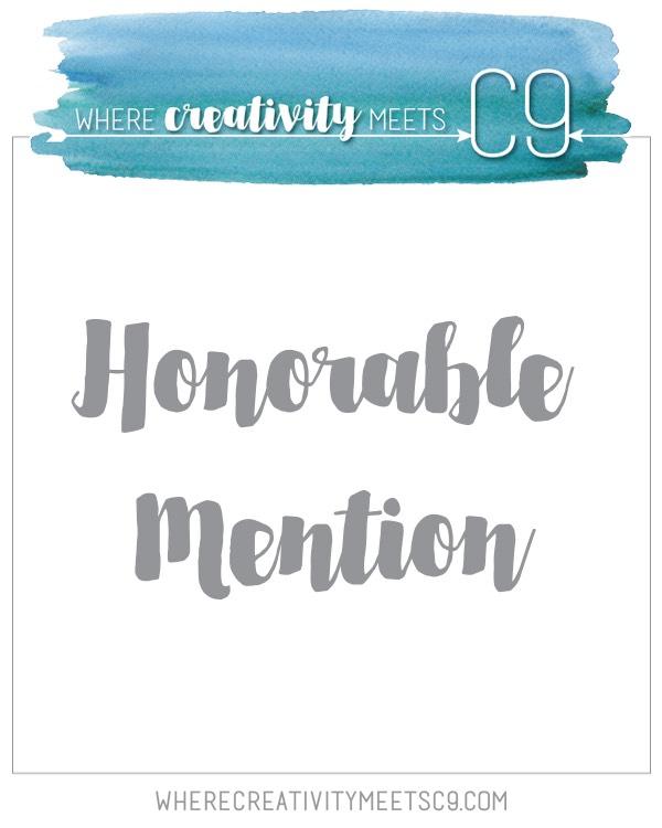 Honorable Mention @ Where Creativity Meet C9