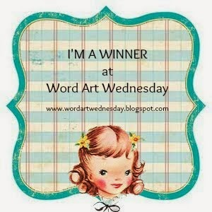 Winner @ Word Art Wednesday