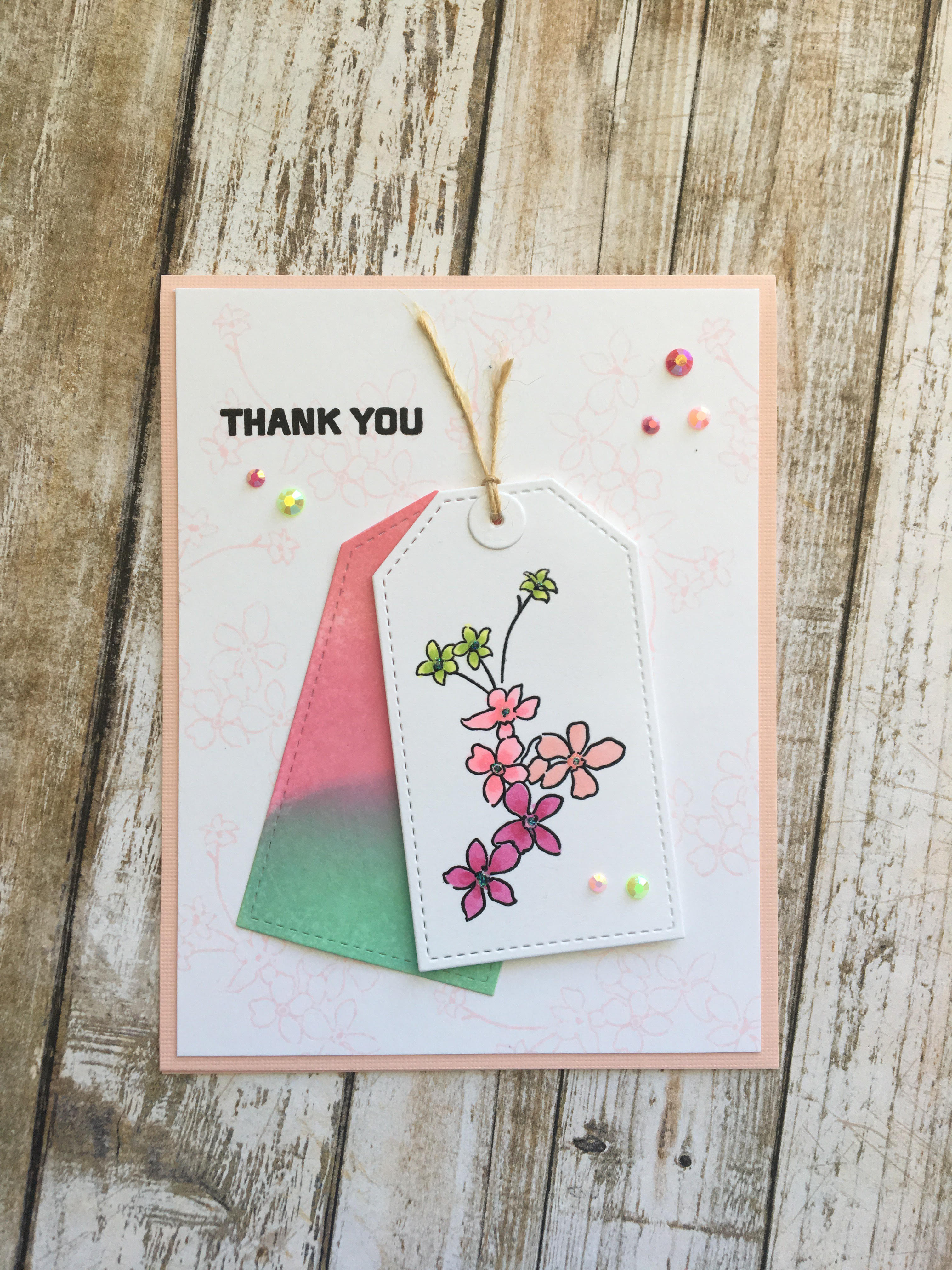 Thank You Teacher Clear Stamp For Handmade Cards /& Tags