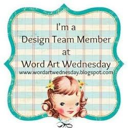 Word Art Wednesday's DT